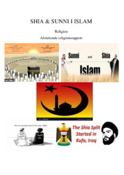 Shia and sunni islam | Religion | 10 i karakter