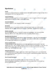 Styreformer | Samfundsfag | Noter