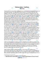 Thomas Ziehe | Fedfront | Samfundsfags | 10 i karakter