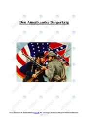 Den Amerikanske Borgerkrig | SSO | 10 i karakter