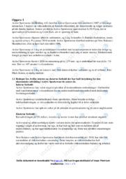 Active Sportswear | Analyse | 10 i karakter