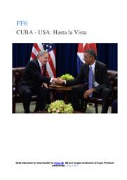 Forholdet mellem USA og Cuba før Trump   SRO noter
