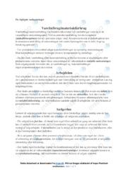 Vigtige omkostninger | Virksomhedsøkonomi noter