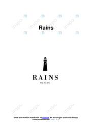 Rains | Virksomhedsanalyse | 12 i karakter
