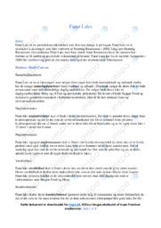 Fanø Laks   Virksomhedsanalyse