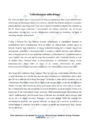 Velfærdsstatens udfordringer | Sammenligning og diskussion