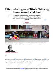 Netto og Rema 1000 | Opgave | 10 i karakter