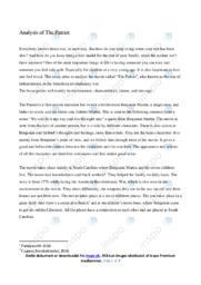 'The Patriot' | Analytical essay | 10 i karakter