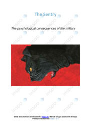 The psychological consequences of the military | Essay