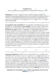 Hundelufteren | Analyse | Jens Blendstrup | 10 i Karakter