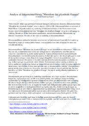 Mændene der plyndrede Europa | Analyse | S. S. Kløppel