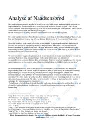 Naadsensbrød | Analyse | Henrik Pontoppidan | 10 i Karakter