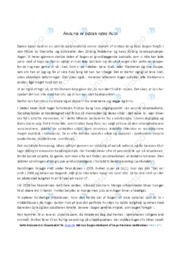 Døden Køre Audi | Analyse | Kristian Bang Foss | 12 i Karakter