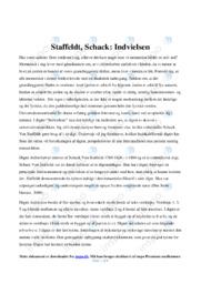 Indvielsen | Analyse | Schack Von Staffeldt | 10 i Karakter