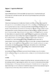 Interne forhold i virksomhedsøkonomi | Test