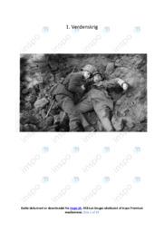 1. Verdenskrig | Opgave | 10 i karakter