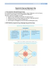Segmentering & målgruppevalg | Noter til International Markedsføring