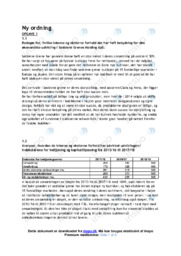 Søstrene Grenes Holding ApS | Økonomisk udvikling