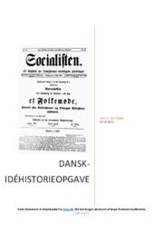 Arbejdsmarkedet i Danmark i slutningen af 1800   DHO