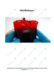 Blodtyper | SRO | 10 i karakter