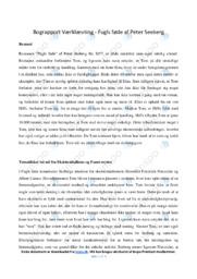 Fugls føde | Analyse | Peter Seeberg  | 10 i Karakter