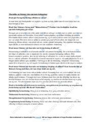 'Skinnerboksen' | Psykologi | Noter
