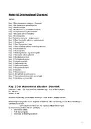 Noter til International Økonomi   Kapitel 2 til 28