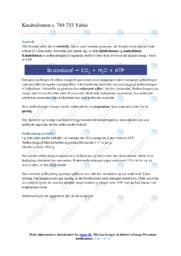 Katabolismen | Biologi | Noter