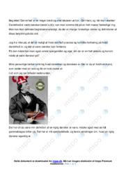 Danmark (Man Dark) | Analyse | Nephew | 12 i Karakter