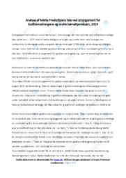 Mette Frederiksens tale om børnehjemsbørn | Analyse | 12 i karakter