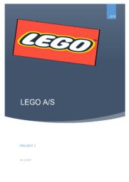 LEGO A/S | Afsætning projekt