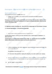 Eksponentielle Funktioner og Regressionsanalyse | Emneopgave