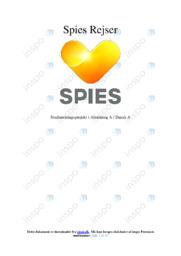 Spies Rejser   SRP   12 i karakter