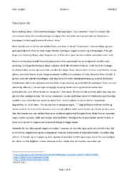 Hvile | Analyse | Peter Seeberg | 10 i Karakter