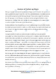 Torben og Maria | Analyse | Naja Marie Aidt | 10 i Karakter