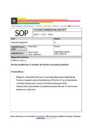 BabySam AS | SOP | 10 i karakter