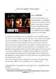 Critica de la película 'Amores Perros'   12 i karakter