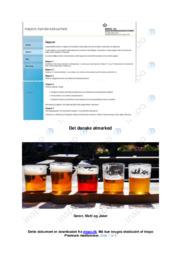 Bryggeribranchen | Anvendelse af produktparametre