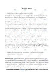 Hansens flødeis | Analyse | 10 i karakter