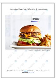 Impossible Foods Inc | SOP | 10 i karakter