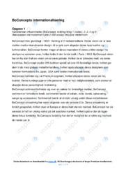 BoConcepts internationalisering | Afsætning | Terminsprøve