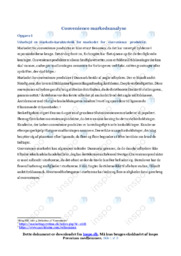 Convenience markedsanalyse | Afsætning | Noter