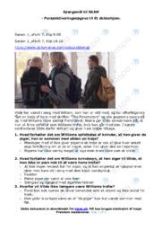 Spørgsmål til Skam | Dansk Opgave