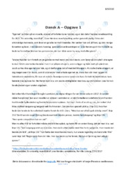 Egernet | Analyse | Lone Hørslev | 10 i Karakter