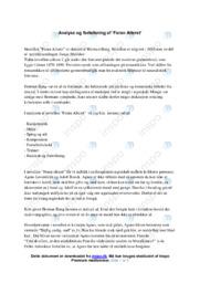Foran Alteret | Analyse | Herman Bang | 10 i Karakter