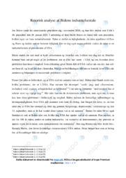 Indsættelsestale   Analyse   Biden   10 i Karakter