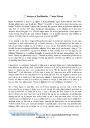 Trælameller   Analyse   Yahya Hassan   10 i Karakter