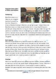 Ebbe skammelsøn | Analyse | Aksel Schiøtz | 10 i Karakter