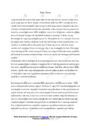 Fake news er informationsforurening   Analyse   Jan Birkemoses
