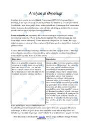 Ørneflugt | Analyse | Henrik Pontoppidan | 10 i Karakter